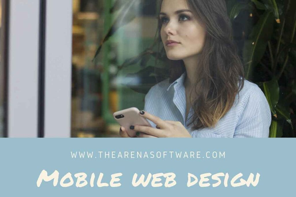 Most important statistics for mobile web design and search engine marketing. If a user has a positive experience with your mobile website, they are 67% more likely to buy a product or use a service.